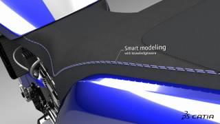 CATIA V6 | Industrial Design | SilverBull & NACA 1000 reveal