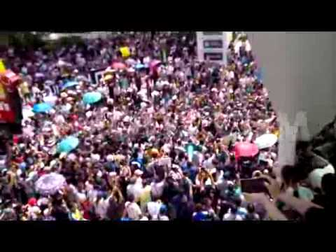Thai Army withdraws from anti-coup protest (Video) in Bangkok