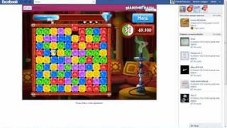 Como Usar Cheat Engine6.1 Diamond Dash En Facebook