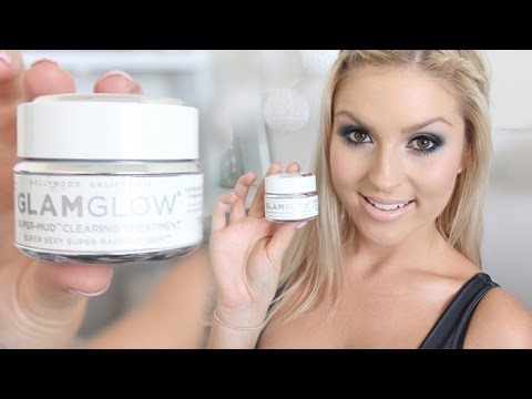 Favorite Face Mask Review & Demo!  Glamglow Super-Mud Clearing Treatment!