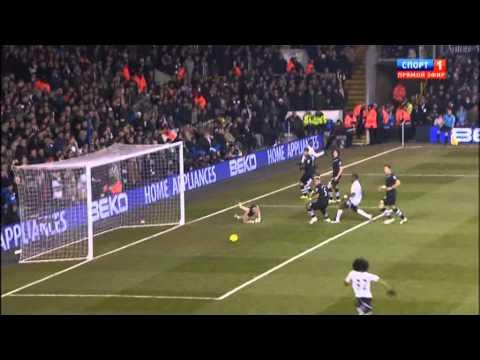 Tottenham v Newcastle 4-0. 1st half time (All Goals)