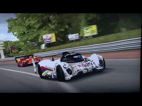 Запись гонки Le Mans
