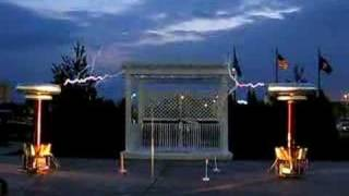 2001: A Space Odyssey Played on Tesla Coils