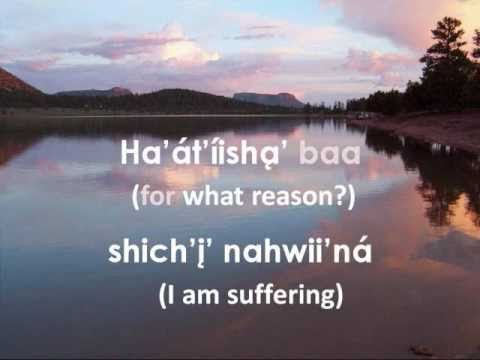 Farther Along (Lyrics in the Navajo Language)