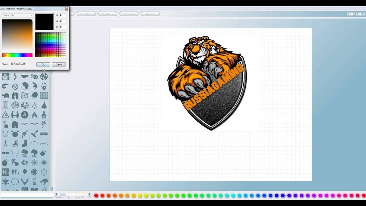 Как сделать логотип на фото 15