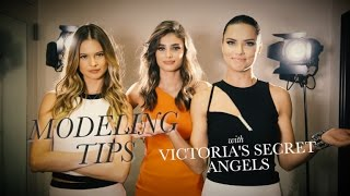 Modeling Tips With Victoria's Secret Angels