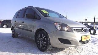 2011 Opel Zafira B 1.6 MT. Start Up, Engine, and In Depth Tour.. MegaRetr