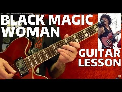 black magic woman tabs pdf
