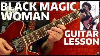 EASY! BLACK MAGIC WOMAN CARLOS SANTANA How To Play