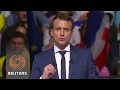 French election contender Macron is Russian fake news target - party chief