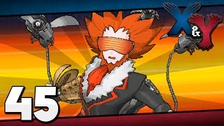Pokémon X And Y Episode 45 Lysandre's Last Stand
