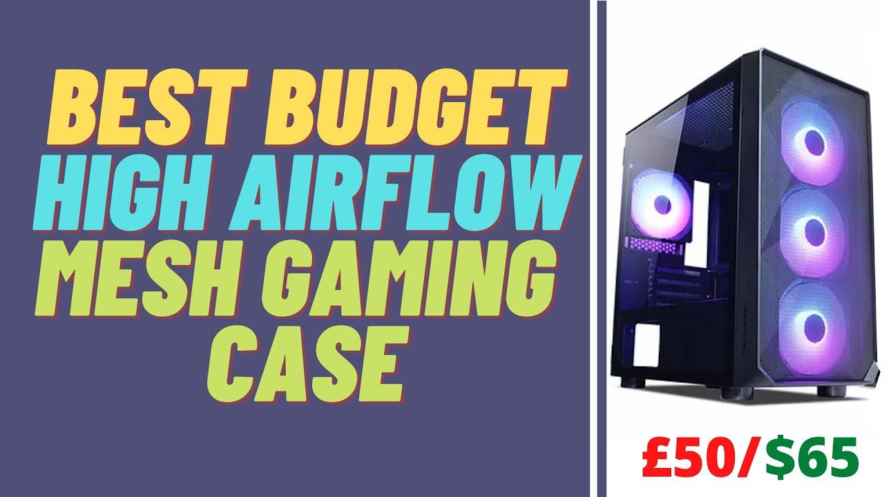 Best Budget High Airflow Mesh Gaming Case   Tecware Forge M ARGB
