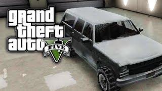 GTA 5 Online: Snow Jeep Rancher XL (GTA V)