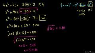 Dopolnjevanje do popolnega kvadrata 4