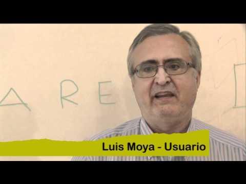 Luis Moya, usuari d'Arep