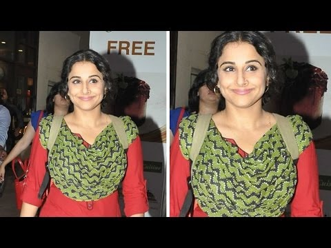 Vidya Balan Talks About Upcoming Budget
