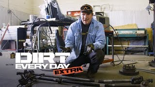 How to Upgrade a Dodge Axle With a Center Axle Disconnect - Dirt Every Day Extra. MotorTrend.