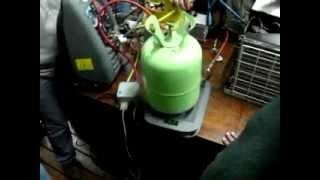 Carga De Gas R22. INTI #2