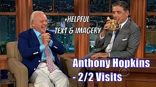 """Anthony Hopkins - """"This Is The Stupidest Show I've Ever Been On"""" - 2/2 Visits In Order [Texmagery]"""