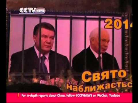 Massive pro-EU rally continues in Kiev