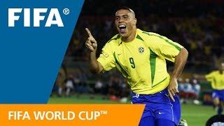 Brazil's Best World Cup Goals! OFFICIAL COMPILATION