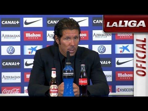 Rueda de Prensa de Simeone tras el Atlético de Madrid (2-1) Osasuna - HD