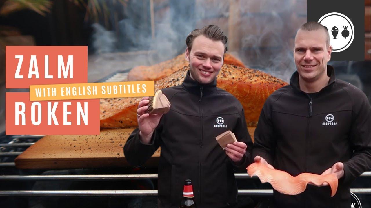 Hoe rook je traditioneel zalm op de BBQ?