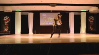 Monica Dubroiu / Romania - World Latin Dance Cup 2012 Soloist Woman 2nd place