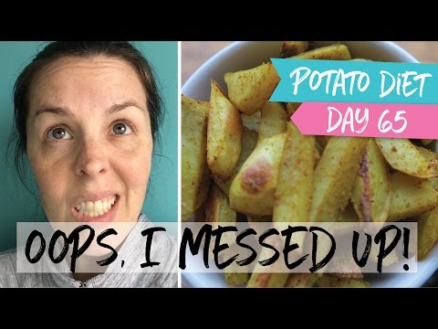 First Slip Up in While  |  Day 65 Potato Diet