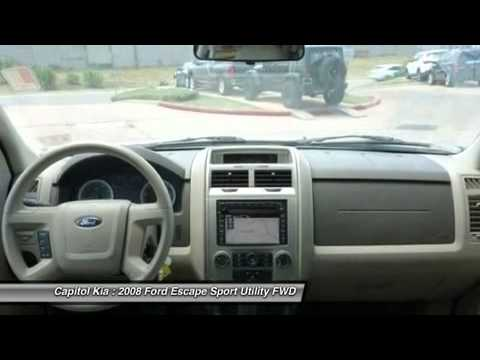 2008 FORD ESCAPE Austin, TX 587878A