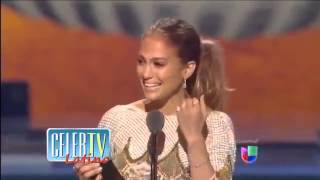 [Jennifer Lopez and Marc Anthony Bump Into One Another] Video