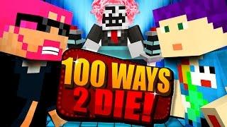 Minecraft: 100 WAYS TO DIE CHALLENGE - HE CHOSE HIMSELF?!