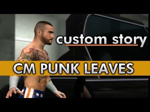 CM Punk Quits WWE. (WWE 2K14 Custom Story)