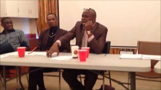 Conférence sur Cheikh Anta Diop à Montréal avec le professeur Ndiaga Loum