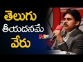 Pawan's excellent Telugu speech at New Hamshire; Meet-and-..