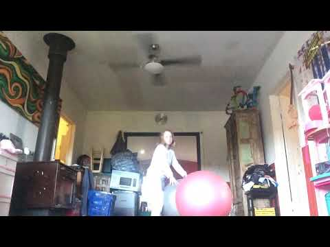 Funny ball means with my BFF