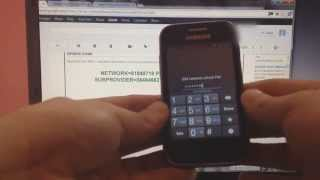 How To Unlock Samsung Galaxy Discover (SGH-S730M) From