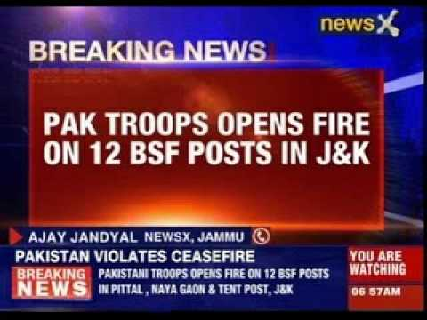 Pakistan violates ceasefire again