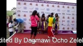 Haile G/selassie and Meseret Defar dancing!!!