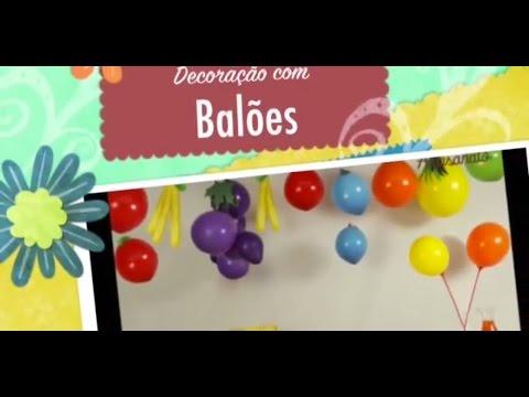 Decoração com balões, ideias diferentes para festa infantil