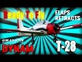 Dynam T28 NEW 6 Ch Radio Flaps Retracts GAVIN 6 TX Unboxing
