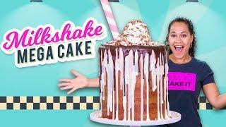 Massive Milkshake MEGA CAKE!! | How To Cake It