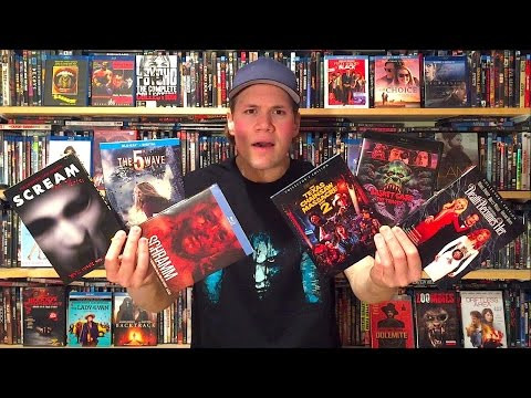 My Blu-ray Collection Update 4/16/16 : Blu ray and Dvd Movie Reviews