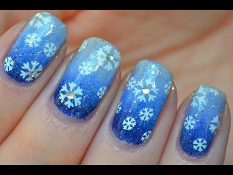 Winter Stempel Tutorial