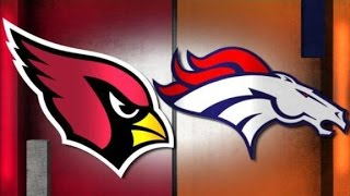 Arizona Cardinals Vs Denver Broncos WEEK 5 NFL PREVIEW