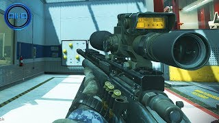 Call of Duty Ghost - SNIPING Gameplay w/ Ali-A! - USR Class & Tips! - (COD Ghosts Multiplayer)