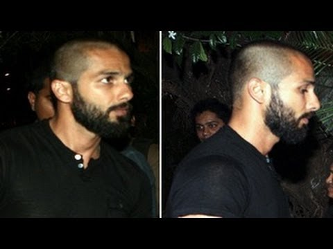 Shahid Kapoor's BALD look for Haider LEAKED