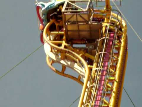 scary roller coaster (neck breaker)