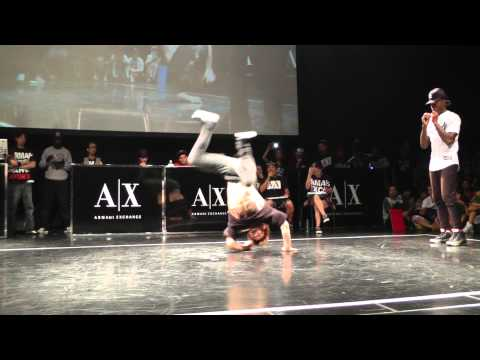 Gamblerz crew(BBOY Rush & BBOY Kill) vs TATA&STRIPES BREAKIN FINAL WDC WORLD FINAL 2013