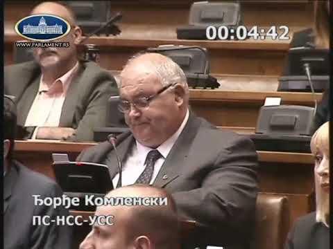 Ђорђе Комленски - Што наша војска буде ближа Приштини бићемо удаљенији од велике Албаније и рата